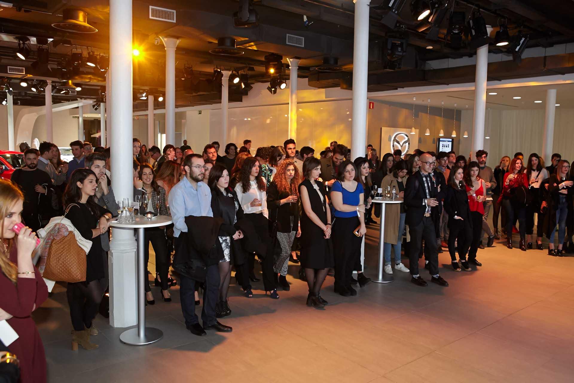 Ceremonia de la entrega de premios Marie Claire Beca Rebels by Mazda.