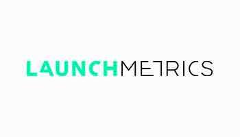 Logotipo de LaunchMetrics