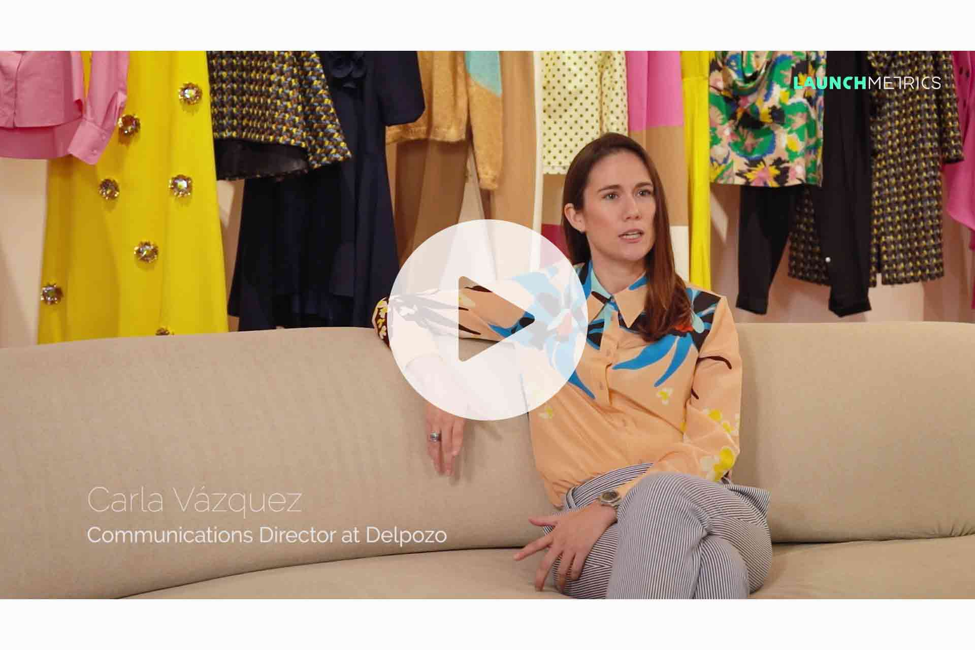 Launchmetrics interviews Carla Vázquez, communication director at Del Pozo, to discover how she uses her products to position herself in the market.